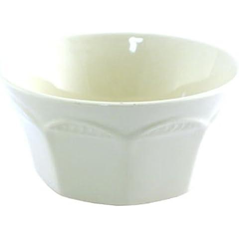 Steelite Monte Carlo azúcar blanco o Bouillon taza - 7 de onza. Cantidad por caja 12.