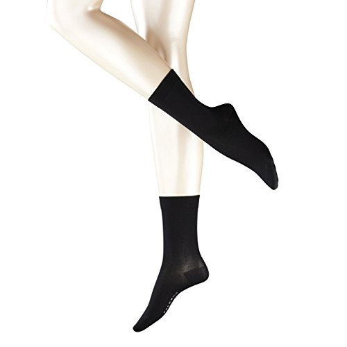 falke cotton touch Falke Damen Socken Cotton Touch 2er Pack, Größe:35-38;Farbe:Black (3009)