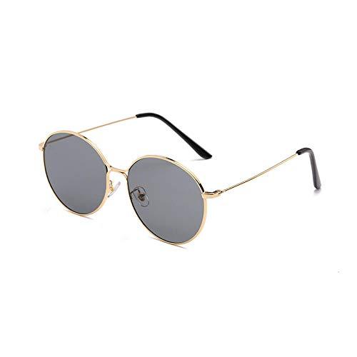Sonnenbrille Männer Und Frauen Persönlichkeit Retro Ocean Film Sonnenbrille Outdoor Sports Reiten Driving Mirror Fashion Round Frame Sunglasses-1