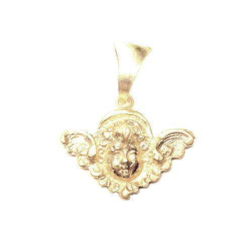 Sacred Line : LUIGI XIV Angel Pendant Silver 925 Gold Plated 24K