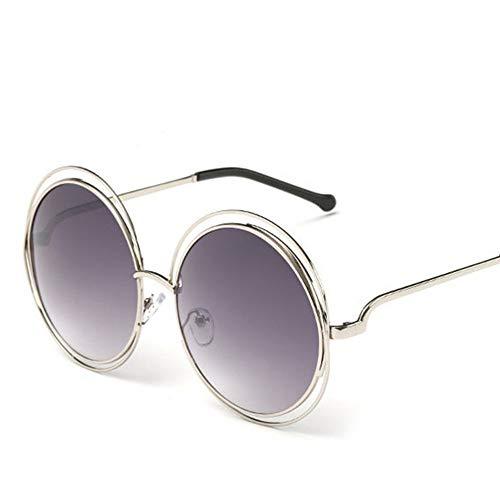 DIYOO Erwachsene Retro Runde Sonnenbrille Stil John Lennon Sonnenbrille Hippie Vintage Sonnenbrille Polarisierte Sonnenbrille Männer Frauen Unisex Classic Eyewear Dark Purple
