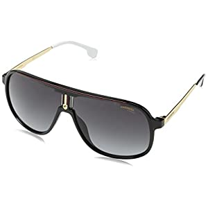 Carrera 1007/S 9O 807 Gafas de sol, Negro (BLACK/DARK GREY SF), 62 Unisex-Adulto