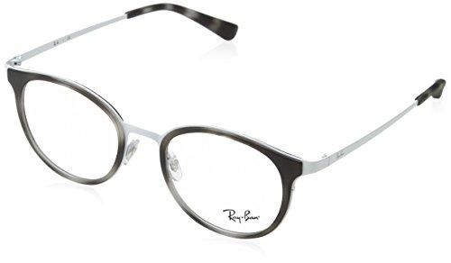 Ray-Ban Damen Brillengestell 0rx 6372m 2957 50, Weiß (White)