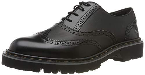 Art Cambridge, Zapatos de Cordones Oxford para Mujer, Negro Black/Black Black/Black, 41 EU