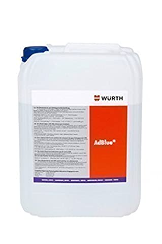 Würth Diesel Additif AdBlue 10 Litres SCR Exhaust Solution Gaz Échappement Post-Traitement
