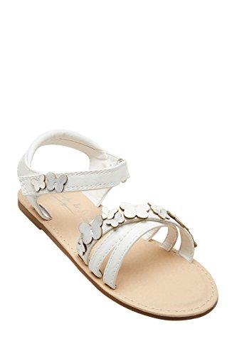 next Sandales Papillon (Maternelle Fille) Standard Fille Blanc