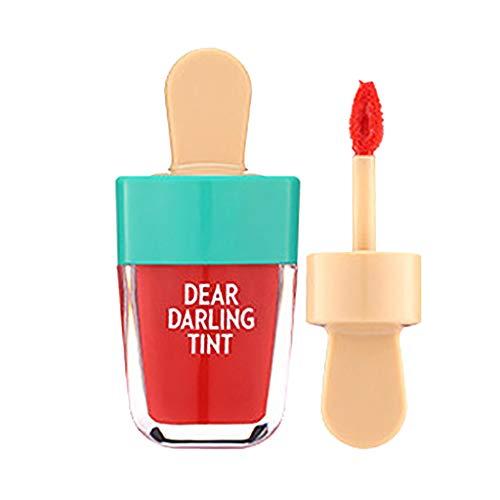 WOZOW Rossetti Lucidalabbra 5 colori Super Ice Cream Lip Gloss Tinta labbra rosse a lunga durata impermeabile