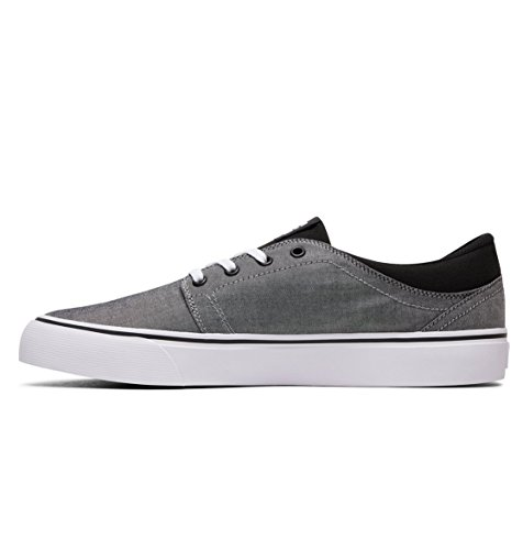 DC Shoes Trase Tx Se, Baskets mode homme Noir - Black/White/Black