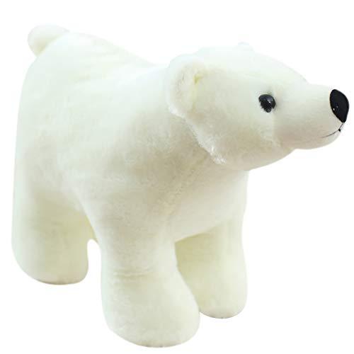 ypypiaol Lebensechte Bär Tier Puppe Plüsch Weiche Wurfkissen Mädchen Geburtstagsgeschenk Spielzeug 1# 25cm -