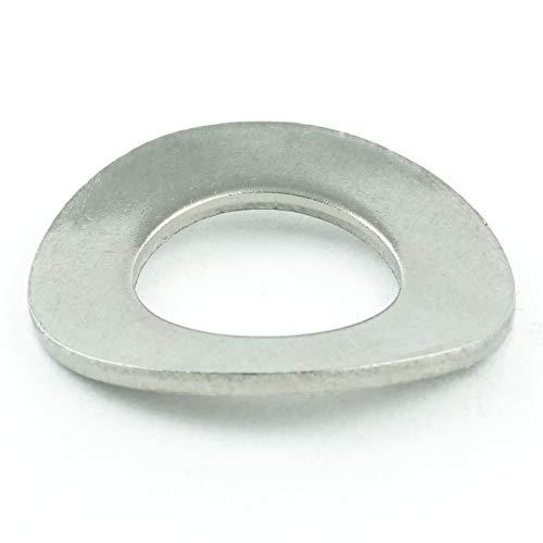 Spring Lock Washer (Eisenwaren2000 | Federscheiben M14 (10 Stück) - Federringe DIN 137 gewellt Form B - Sprengringe - Sperringe - Edelstahl A2 V2A - rostfrei)