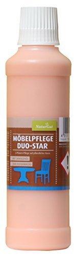 NaturGut Möbelpflege Duo-Star natürliches Mittel zur Pflege und Reinigung 250ml -