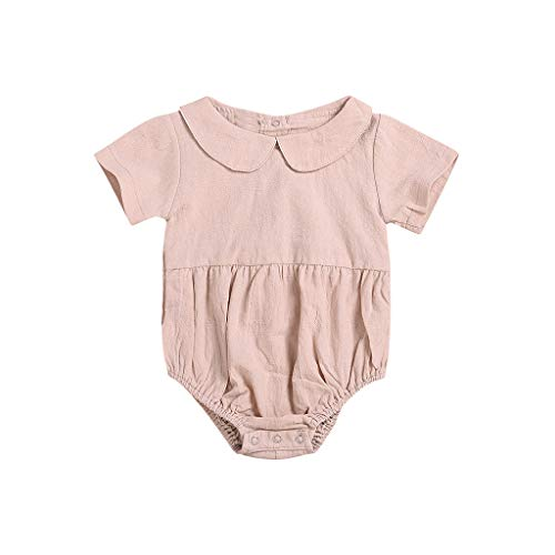 ad09d326304 Hokoaidel Infant Newborn Baby Boy Kids Girls Bodysuit Rompers Outfits  Clothes Ruffle Romper Romper Bodysuit Sister