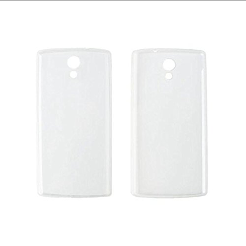Guran® Weiche Silikon Hülle Cover für Homtom HT7 / HT7 Pro Smartphone Bumper Case Schutzhülle-Transparent weiß