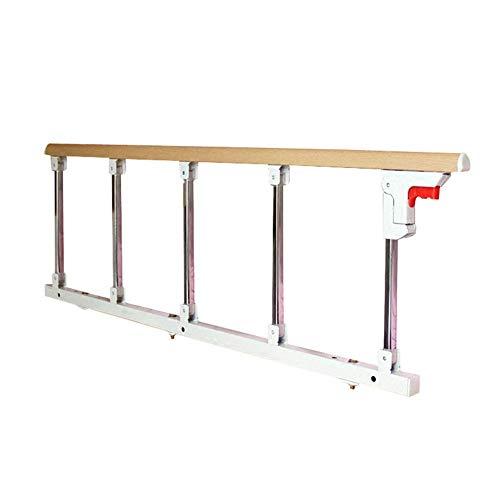 FMEZC Schienen für Bettstütze Griff für Sicherheitsbügel für Seniorenbett, Klappbügel von 120 cm Länge für Kingsize-Bett, großes Bett, Höhe von 40 cm -