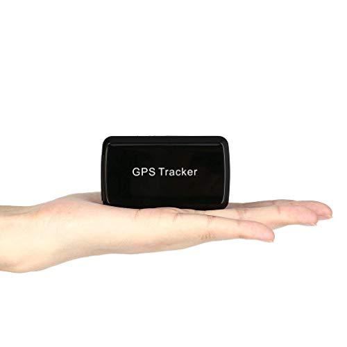BuFan GPS GPS/GPRS/gsm Tracker 30 Días Inactivo Real Time Protección  Antirrobo Rastreador GPS para Vehículos con Imán Potente 4000 mAh Batería