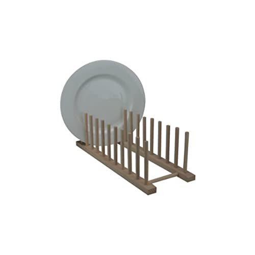 Long Dish Stand  sc 1 st  Amazon UK & Wooden Plate Rack: Amazon.co.uk