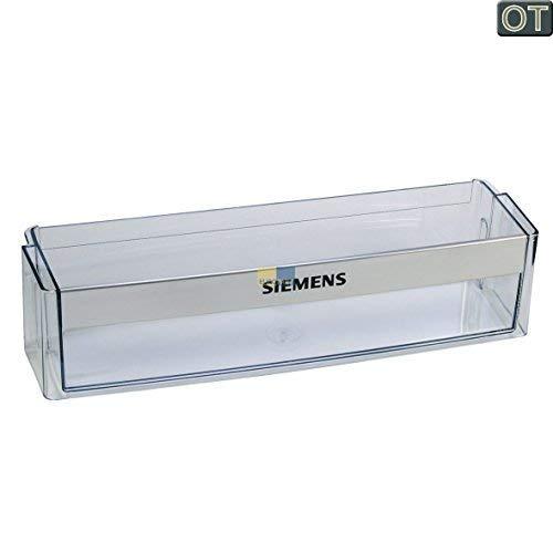 Siemens 705186 00705186 ORIGINAL Absteller Abstellfach Türfach Seitenfach Flaschenfach Flaschenhalter Flaschenabsteller Kühlschrank Kühlschranktür Aufdruck