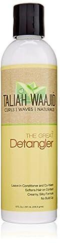 Taliah Waajid - Black Earth Products - The Great Detangler
