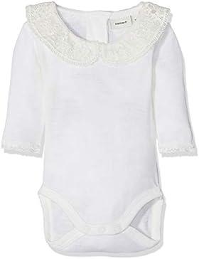 NAME IT Baby-Mädchen Strampler Nbfwang Wool Need.ls Body W/Col Noos