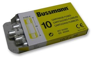 Best Price Square FUSE, C10 GENERAL 10A C10G 10A By BUSSMANN BY EATON 10 Amp Bussmann Fuse