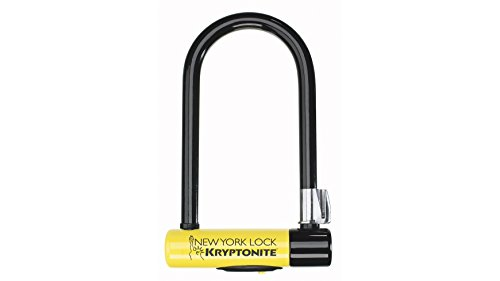 Kryptonite New York Lock Standard (10x20cm) Fahrradschloss, Yellow, 10 x 20 cm