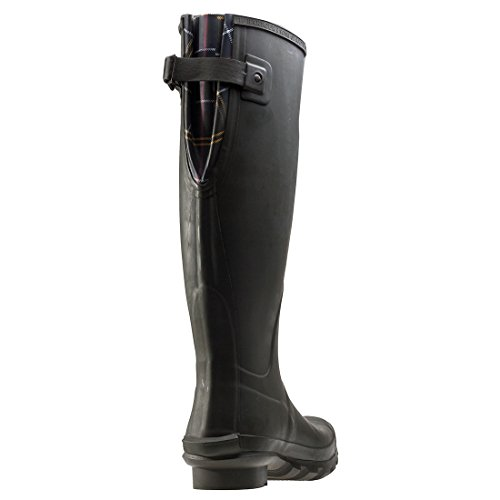 Barbour , Work Wellingtons femme Vert - Olive