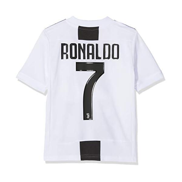 adidas Juve H JSY Y, Maglia Gara Home 2018/2019 Cristiano Ronaldo, Bambino 2 spesavip