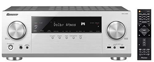 Pioneer 9.2 AV Receiver, VSX-LX303, 170 Watt/Kanal, 4K UltraHD Durchleitung, Dolby Atmos, DTS:X, WLAN, Bluetooth, Hi-Res Audio, Streaming, Musik Apps (Spotify u.a.), Internet Radio, Multiroom, Silber -