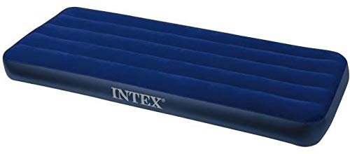 Intex 68950 Inflatable Classic Mattress - Intex 68950 Inflatable Classic Downy Air Mattress - Blue, Twin Size