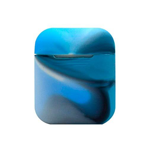 RRunzfon Auricolare Bluetooth Apple Cover Cuffia per Esterno Custodia in Silicone Anti-Shock Antiurto per Cuffie Airpods