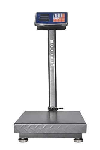 Bilancia digitale 300 kg a piattaforma elettronica display lcd retroilluminato digitale industriale pieghevole *bilanciatcs300k*