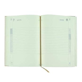 Terminplaner 2020 17×24 cm Täglich – Elfenbeinpapier