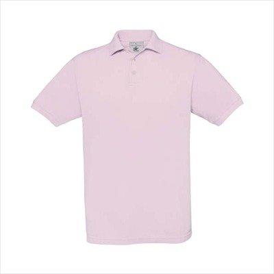 B&C - Piqué Poloshirt 'Safran' Pink Sixties