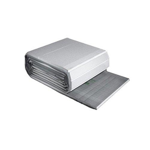 5m² 1m x 5m Rolljet 30-3mm Fußbodenheizung Trittschall- Dämmung Dämmmatte