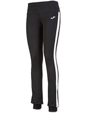 Joma - Pantalon largo bella negro-blanco para mujer
