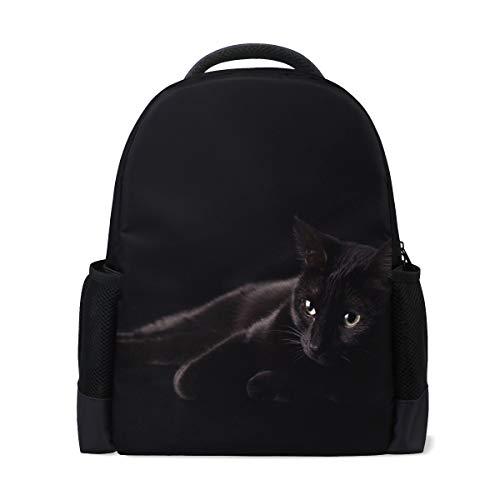 Jansport Geldbörse (Studenten-Rucksäcke für Schule, Buchtasche, Reisen, Wandern, Camping, Tagesrucksack für Jungen und Mädchen, 40,6 x 30,5 x 15,2 cm, für 39,1 cm Laptop (Schwarze Katze))