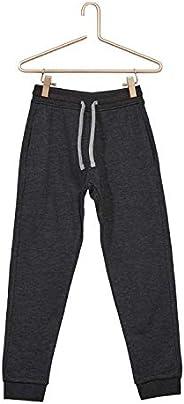 Kiabi Boys Sweatshirt Fabric Tracksuit Bottoms, Grey