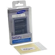 Batería Original Samsung EB-B600BEBEG–LiIon Ampolla para Samsung I9506Galaxy S4LTE Plus + Gratis mungoo® Pantalla paño de limpieza