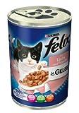 Felix | Mit Lachs & Forelle in GELEE | 24 x 400 g