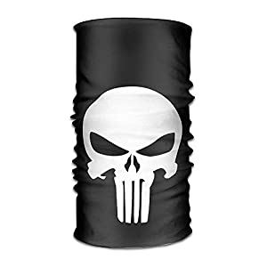guanggs Atoggg The Punisher Logo Headbands/Bandana/Face Mask/Yoga Headband/Bandana Headband/Head Scarf/Head Wrap for Unisex