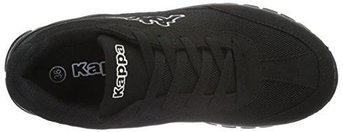 Kappa - Rocket, Scarpe da ginnastica Unisex – Adulto Nero (1111 Black)