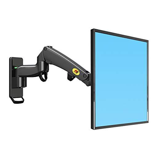 """NB North Bayou F300 30\"""" - 40\"""" Monitor Wandhalterung mit Kostenlos Einstellen Gasfeder TV Wandhalterung Fernseher Halterung Schwenkbar Neigbar Universal LCD TV Wandhalter VESA75 100 200"""