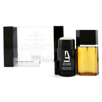 2.2 Oz Eau De Parfum Spray (Loris Azzaro Azzaro Coffret: Eau De Toilette Spray 50ml/1.7oz + Deodorant Stick 75ml/2.2oz (Lounge Edition) 2pcs - Parfum Herren)