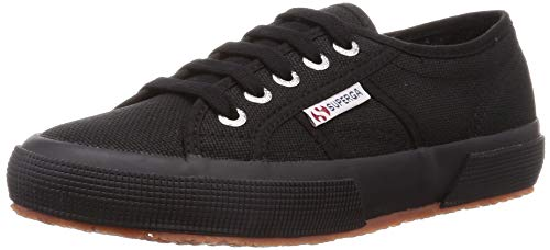 Superga 2750 Cotu Classic Mono, Unisex-Erwachsene Sneaker, Schwarz, 41.5 EU (7.5 UK) -