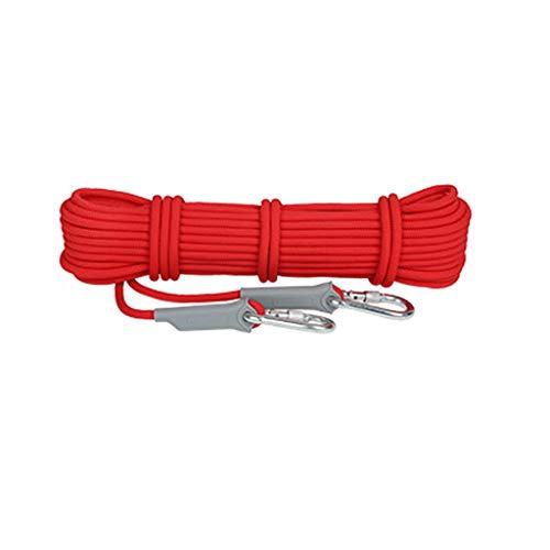 LYM-Rope Corde d'escalade, Diamètre De 8 Mm pour Cordon De Sécurité D'évacuation d'urgence en Alpinisme Résistant À l'usure en Extérieur