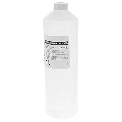 Alkohol f medizinische Zwecke, Isopropanol 99.5% Isopropylalkohol IPA 99 Prozent zur medizinischen Desinfektion und Reinigung, 1 Liter