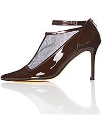 FIND Scarpe con Cinturino alla Caviglia Donna