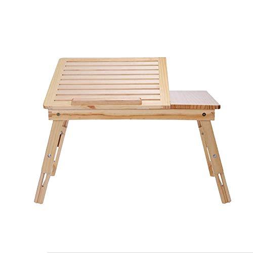 A-Fort Tisch Klapptisch Laptop Tisch Bett Buch Tisch Hause Schlafsaal Student Tisch Liege Schreibtisch