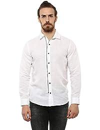 5cff2b4a0 Linen Men's Shirts: Buy Linen Men's Shirts online at best prices in ...