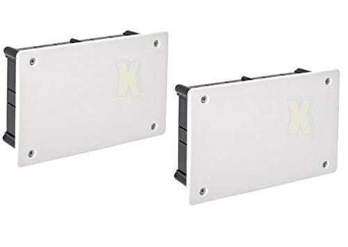 UP Abzweigkasten 100x160x50 mm Deckel mit Schrauben (2)